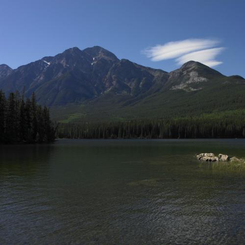 Pyramid Lake Parc National de Jasper - Credit Photo Travel Alberta