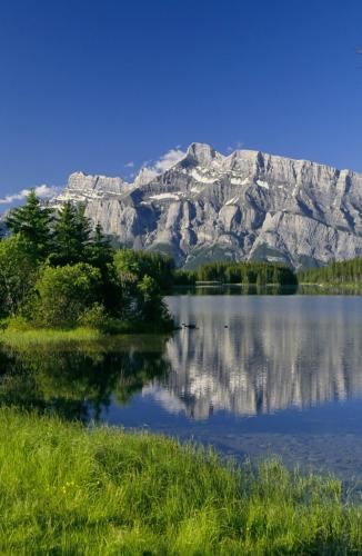 Two Jack Lake Parc National de Banff - Credit Photo Travel Alberta