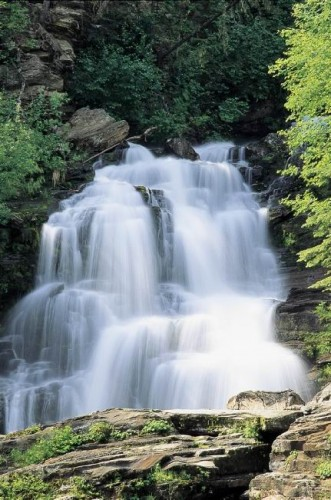 Bijoux Falls Provincial Park - Credit Photo Tourism British Columbia