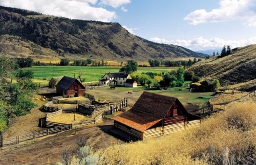 Hat Creek Ranch - Credit Photo BC Heritage