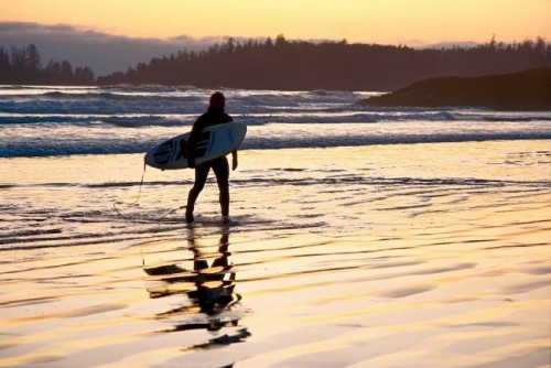 Surfer Tofino - Credit Photo Tourism British Columbia