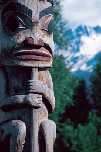 Totem - Credit Photo Tourism BC - Tom Ryan