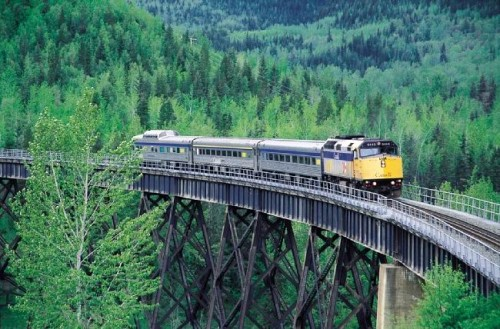 Train - Credit Photo Tourism BC - Tom Ryan