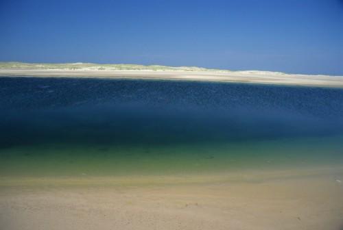 La mer et la dune de sable - Crédit Photo - P.Arseneau
