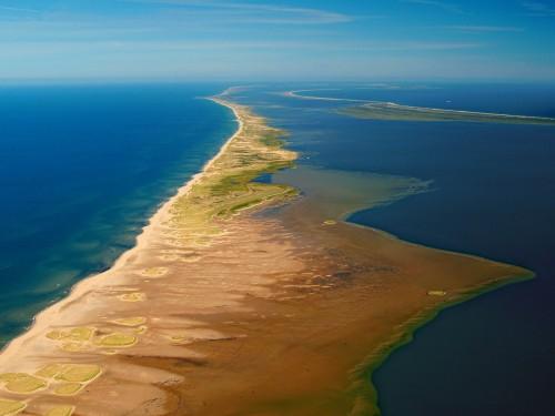Vue aérienne de la Dune du Nord - Crédit Photo - R.Garnett