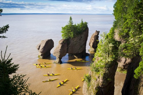 Baie de Fundy -  Credit Photo Tourisme Nouveau-Brunswick, Canada