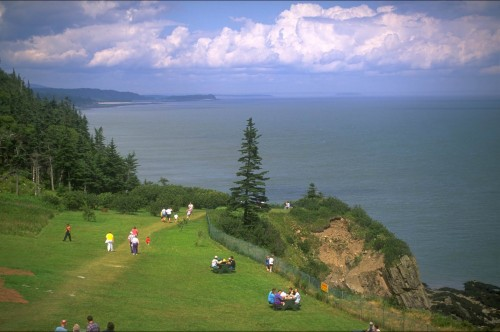 Cape Enrage - Credit Photo Tourisme Nouveau-Brunswick, Canada