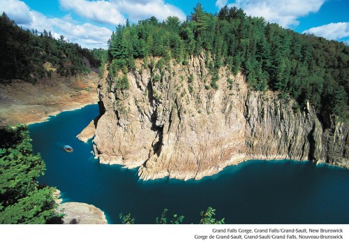 Gorge de Grand-Sault - Credit Photo Tourisme Nouveau-Brunswick, Canada