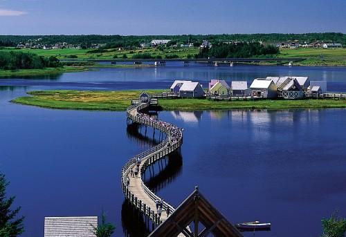 Pays de la Sagouine - Credit Photo Tourisme Nouveau-Brunswick, Canada
