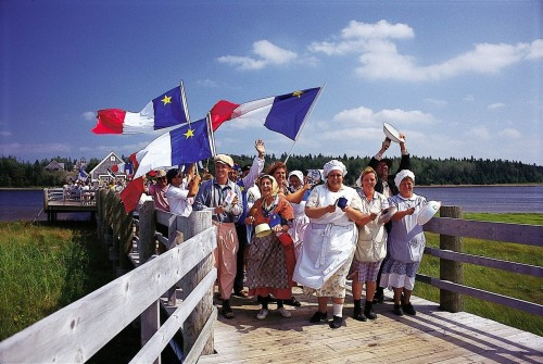 Pays de la Sagouine Tintamarre - Credit Photo Tourisme Nouveau-Brunswick, Canada