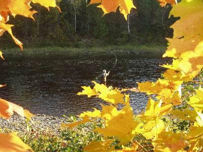 pêche à la mouche - Credit Photo Tourisme Nouveau-Brunswick, Canada