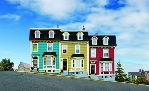 Kimberley Row St John s - Credit Photo Newfoundland and Labrador Tourism - Barrett and Mackay