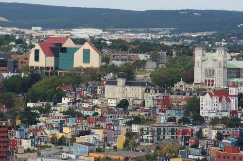 St John s - Credit Photo Newfoundland and  Labrador Tourism - Hans G Pfaff