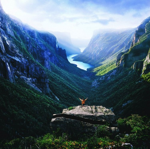 Western Brook Pond - Credit Photo Newfoundland and Labrador Tourism