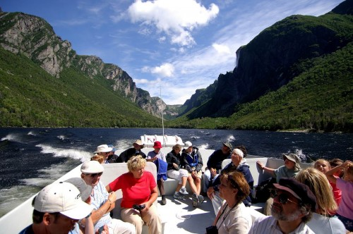 Western Brook Pond Gros Morne National Park - Credit Photo Newfoundland and  Labrador Tourism - Hans G Pfaff