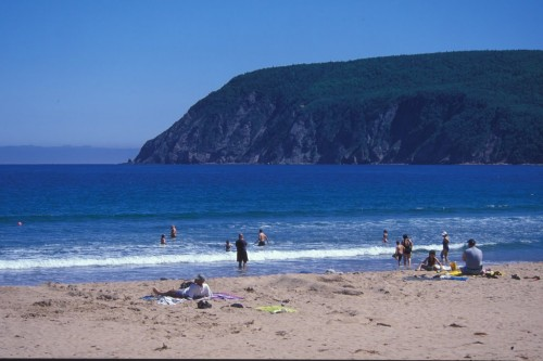 Ingonish Beach on the Cabot trail - Credit Photo Nova Scotia Tourism