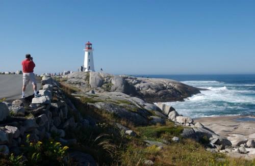 Peggy's Cove lighthouse - Credit Photo Nova Scotia Tourism