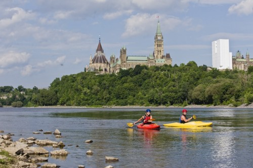 Ottawa Kayak - Credit Photo Ontario Tourism