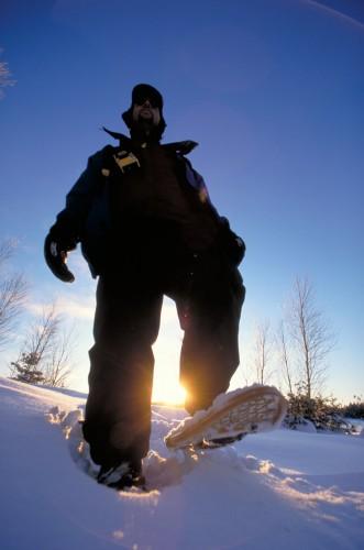Parc Algonquin hiver - Credit Photo Ontario Tourism