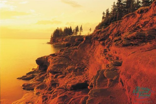 Falaise Couche de soleil - Credit Photo Tourism PEI - Barrette & MacKay
