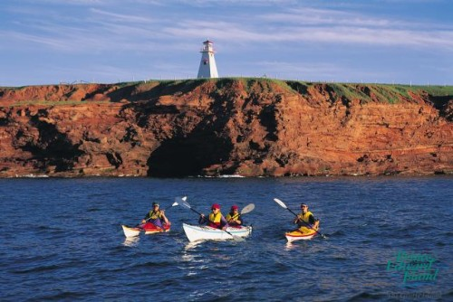 Kayak - Credit Photo Tourism PEI - John Sylvester