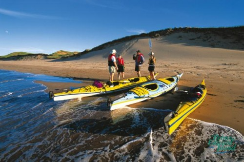 Plage et Kayak - Credit Photo Tourism PEI - John Sylvester