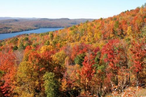Les couleurs d'automne - Crédit photo Tourisme Laurentides