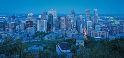 Vue du Mont-Royal - Credit Photo Tourisme Montréal, Stéphan Poulin