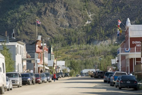 Dawson City - Credit Photo Government of Yukon