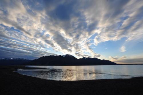 Kluane Lake - Credit Photo Government of Yukon - Derek Crowe